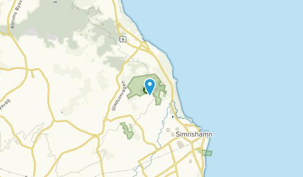 Simrishamn, Skåne län Map
