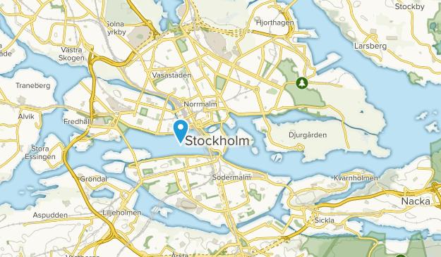 Oscar, Stockholm Map