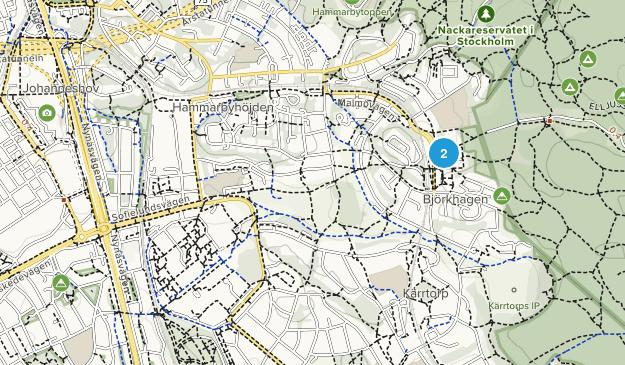 Johanneshov, Stockholms län Map