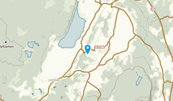 Lerdala, Västra Götalands län Map