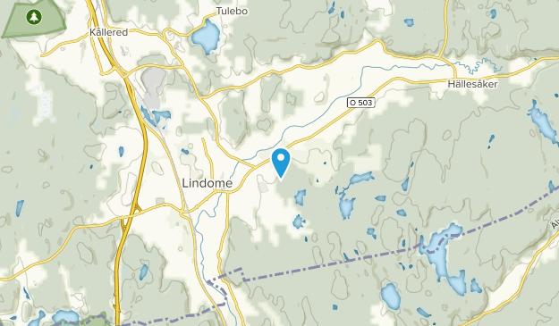 Lindome, Västra Götalands län Map