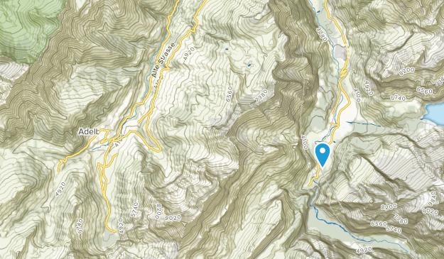 Adelboden, Bern Map