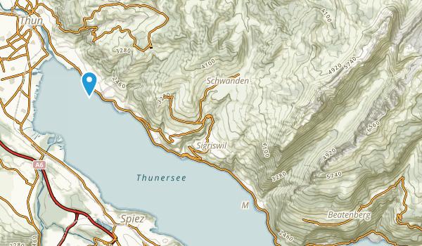 Beatenberg, Bern Map