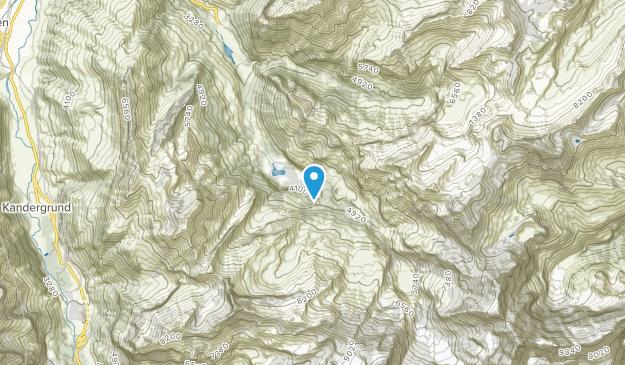 Griesalp, Bern Map