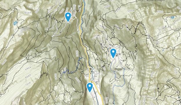 Lauterbrunnen, Bern Map