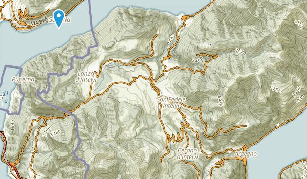 Valsolda, Como Map