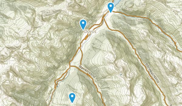 Davos, Graubünden Map