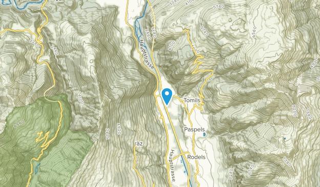 Rothenbrunnen, Graubünden Map