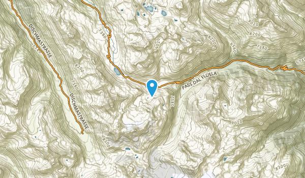Susch, Graubünden Map