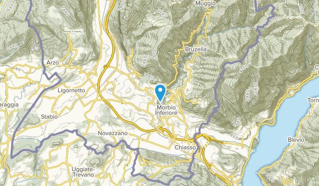Castel San Pietro, Ticino Map