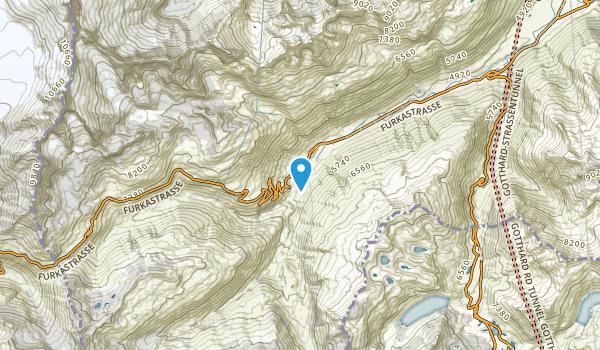 Realp, Uri Map