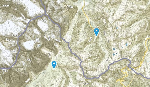 Ferret, Valais Map