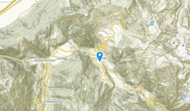 Le Châble, Valais Map