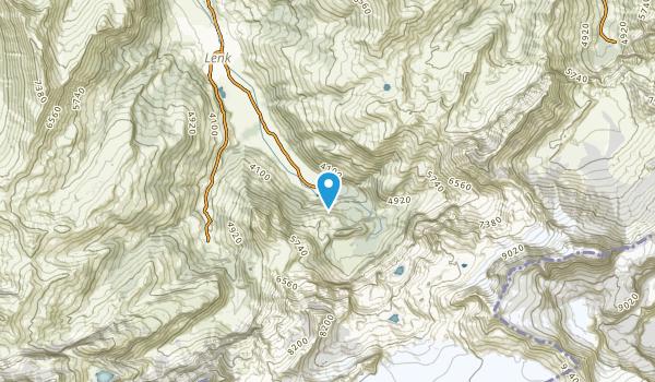 Lenk, Valais Map