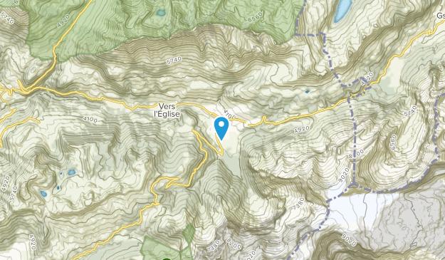 Les Diablerets, Vaud Map