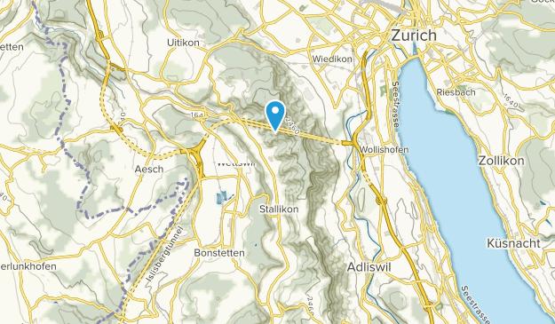 Stallikon, Zürich Map