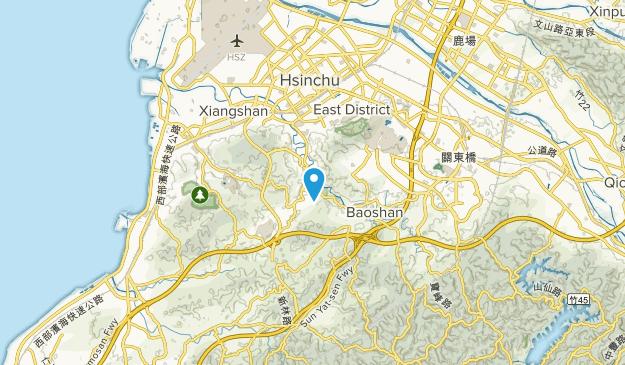 Hsinchu, Hsinchu City Map