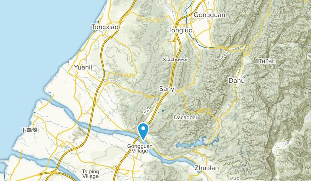 銅鑼鄉, Miaoli Map