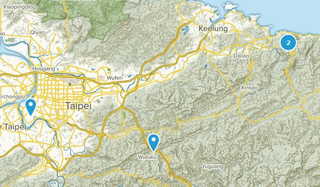 Pingxi, New Taipei City Map