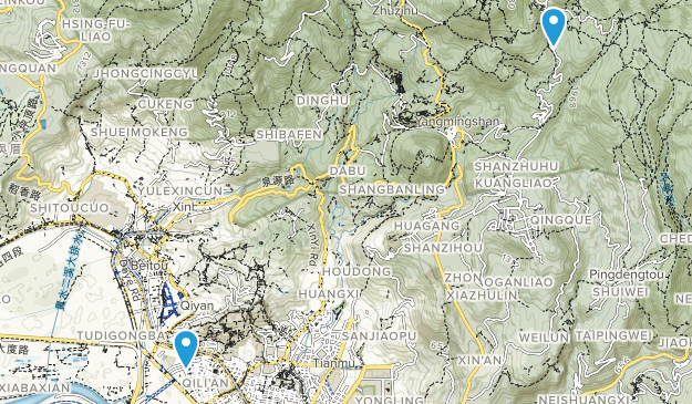 Beitou, Taipei City Map