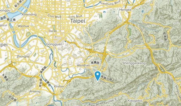 Taipei, Taipei City Map