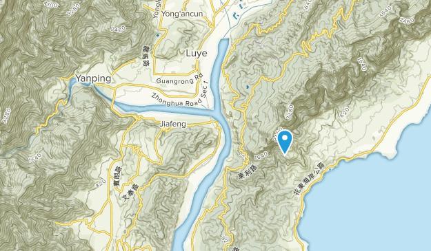 Najie, Taitung Map