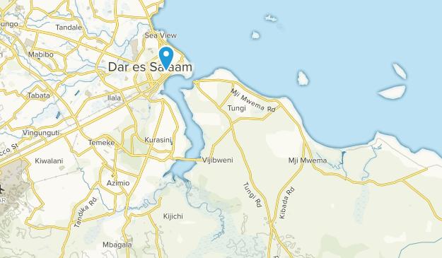 Garden Avenue, Dar-Es-Salaam Map
