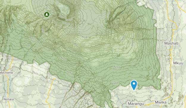 Rombo, Kilimanjaro Map