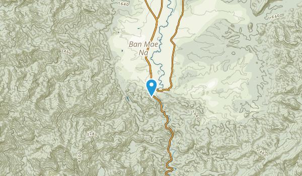 Ban Sop Khap, Chiang Mai Map