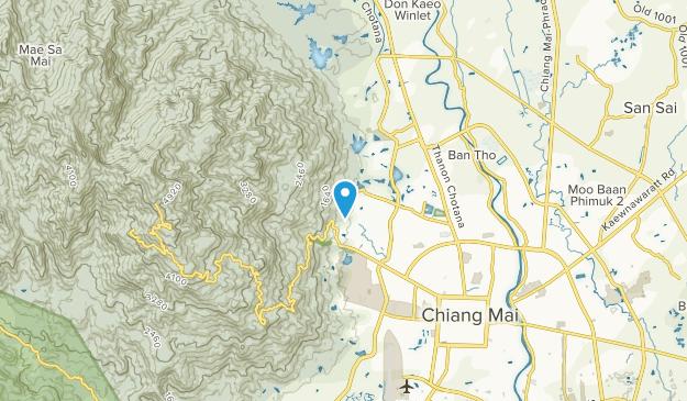 Chiang Mai, Chiang Mai Map