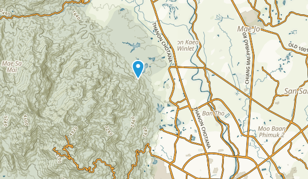 Mae Rim, Chiang Mai Map