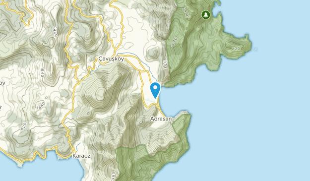Kumluca, Antalya Map