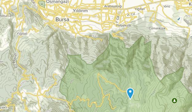 Bursa, Bursa Map
