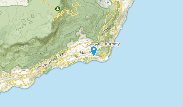 Гаспра, Крим Map