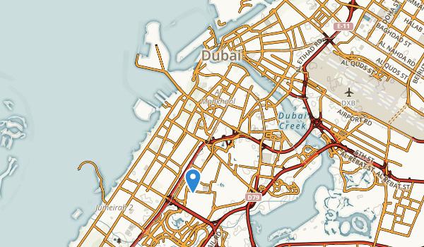 Bur Dubai, Dubai Map
