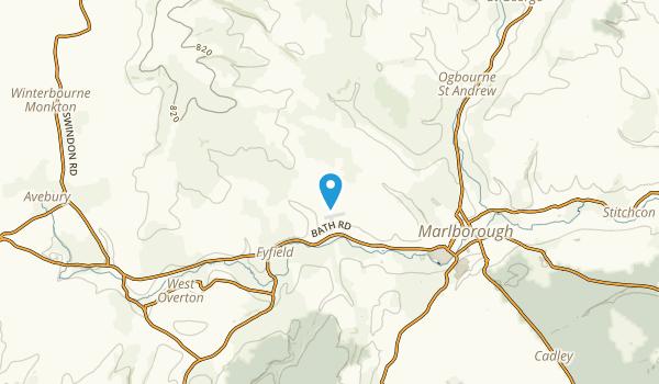 Marlborough, United Kingdom Map