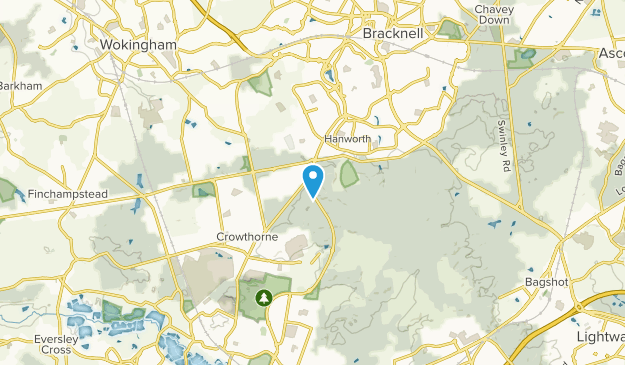 Crowthorne, Bracknell Forest Map