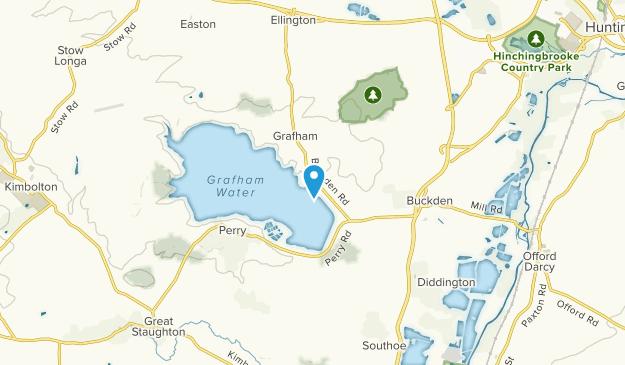 Grafham Civil Parish, Cambridgeshire Map
