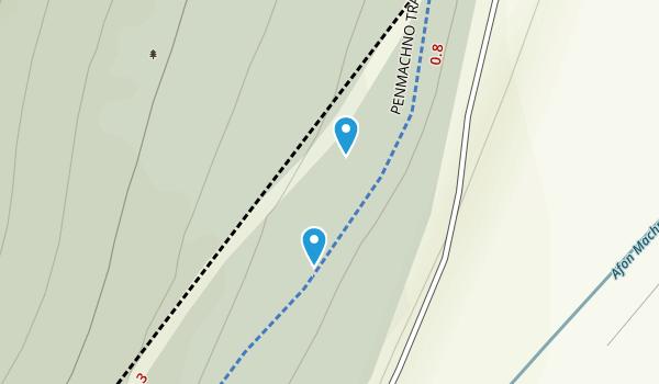 Bro Machno Community, Conwy Map