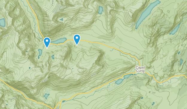 Capel Curig Community, Conwy Map