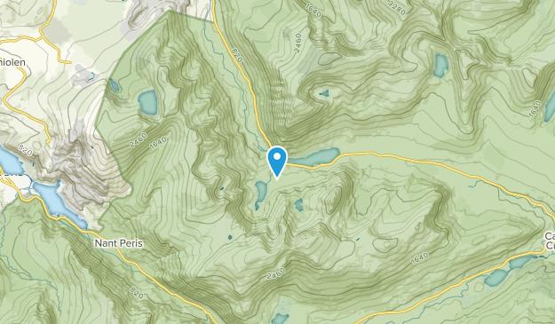 Capel Curig Community, CWY Map