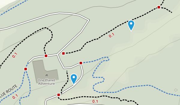 Llandegla Community, Denbighshire Map