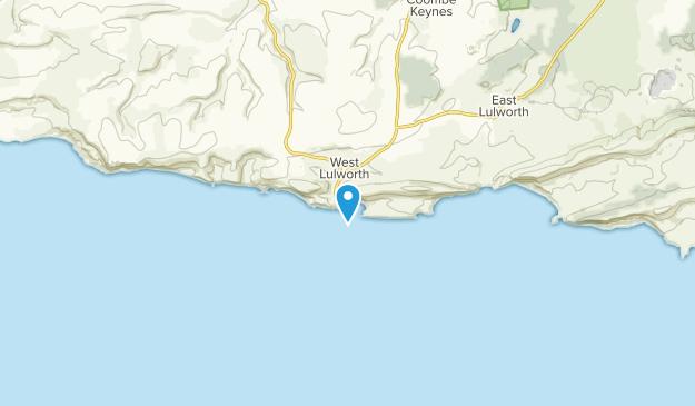 West Lulworth, DOR Map
