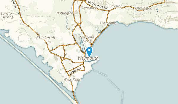 Weymouth, DOR Map