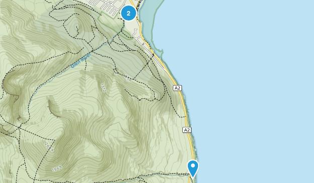 Newcastle, Down Map
