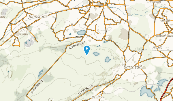Barrhead, East Renfrewshire Map