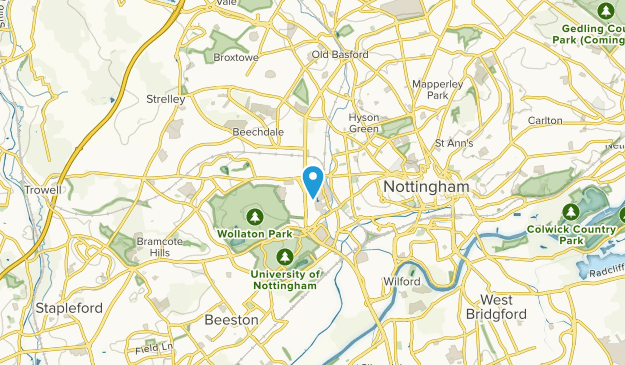Basford, England Map