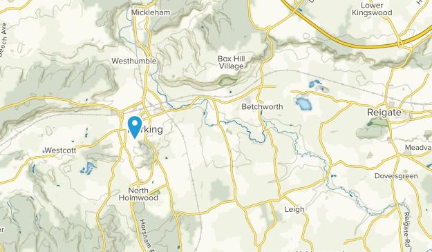Betchworth, England Map