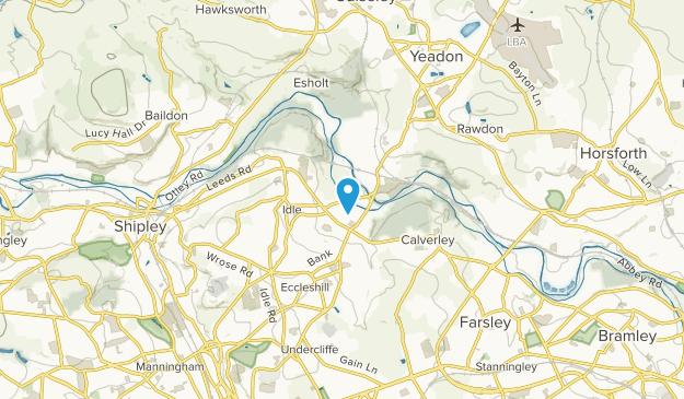Bradford, England Map