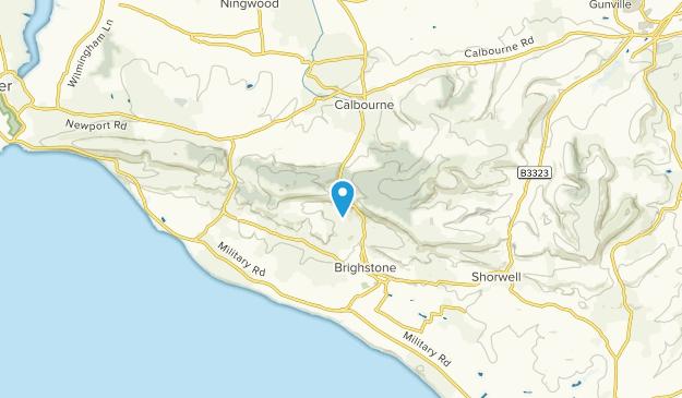 Brighstone, England Map